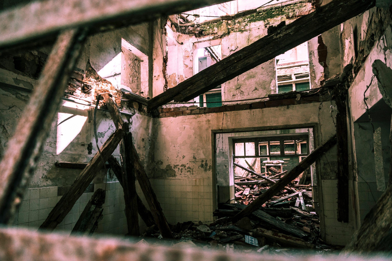 chantiers de démolition des immeubles