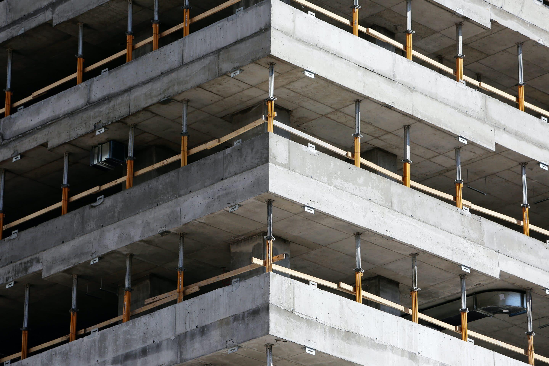 chantiers de gros œuvre des bâtiments est terminé